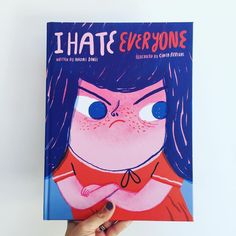 You know that feeling when you want everyone to go away, but you don't really? #IHateEveryone by #naomidanis and @cinta_arribas get it spot…