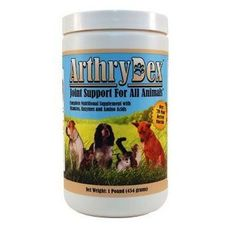"""""""PIN IT TO WIN IT!"""" - 1 lb Canister of ArthryDex by Youngevity - a complete nutritional supplement with vitamins, amino acids, and enzymes formulated to support healthy bones and joints in small and large animals."""