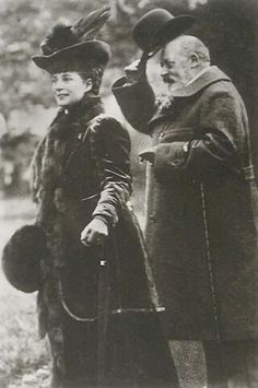 Queen Alexandra and King Edward VII