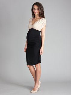 Maternity Evening Dresses - Empire Line Cocktail Dress