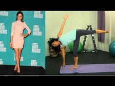Kate Beckinsale leg workout w/ her trainer Mandy Ingber.
