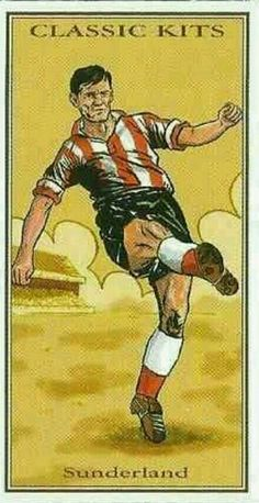 Classic Kits card - Sunderland in the 1950s.