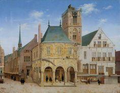 Pieter Saenredam: Old Town Hall in Amsterdam (1657); Rijksmuseum Amsterdam