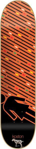 Girl Koston Oh G's Pop Secret - 8.25 Inch - Orange - Skateboard Deck