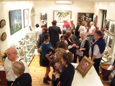 '4 Decades and Still going Strong', John Smith opening night attracts a festive crowd. @ Artisan Gallery, 344 Florida Road, Durban. Email: info@artisan.co.za. Ph: 031 312 4364 John Smith, Opening Night, Exhibitions, Bed And Breakfast, Night Life, Crowd, Ph, Attraction, Festive