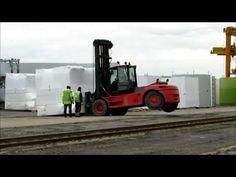 Schwertransport Verladung Transport Exceptionel Heavy Goods Transport pr...