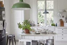 Cute country kitchen: köket