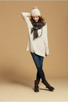 Lova Link Stitch Cashmere Pullover