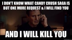 "Candy Crush requests will cause ""Third World War"" I Dont Know You, Know Who You Are, I Got You, You And I, Facebook Friend Request, Chicks Be Like, Baby Mama Drama, Down Quotes, Vape Memes"