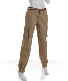 8d40dbf1f882ea Old Navy Womens Linen Blend Cargo Pants ($20) ❤ liked on Polyvore ...