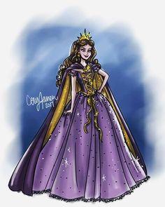 Vanessa by paperdollsbycory Disney Sketches, Disney Drawings, Cool Drawings, Disney Villains, Disney Pixar, Disney Princesses, Disney Style, Disney Love, Gravity Falls