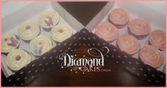 Strawberry and Lemon Cupcakes Diamond Cake, Lemon Cupcakes, Strawberry, Desserts, Food, Tailgate Desserts, Meal, Dessert, Eten