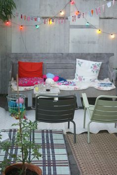 Eclectic Outdoor living