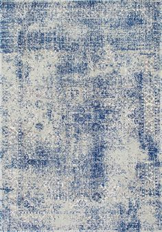 nuLOOM Vintage Willena Blue Rug