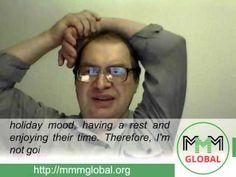 MMM Global, weekly news from Sergey Mavrodi (2015.12.28) - YouTube