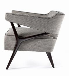 The Wallace Club Chair Studio Van den Akker lounge chair seating Furniture Upholstery, Design Furniture, Upholstered Chairs, Industrial Office Chairs, Cool Chairs, Furniture Inspiration, Modern Chairs, Modern Chair Design, Sofa Chair