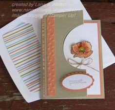 Stampin' with Nanna: Happy Watercolor Flower