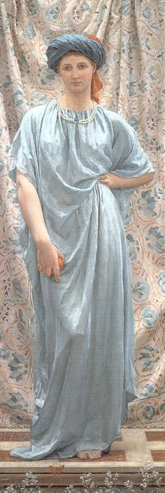 Sapphires by Albert Joseph Moore. From the Birmingham Museum and Art Gallery collection.