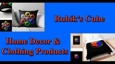 Here is some amazing designs that were created, using the Rubik's Cube as the main background. These art is available on all kinds of clothing and home decor products. For more info, just visit below link. Rubik's Cube, Home Decor Styles, Online Art, Online Printing, Print Design, Unique, Link, Amazing, Clothing