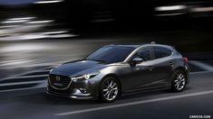 2017 Mazda 3 5-Door Hatchback (Color: Machine Grey) - Front Three-Quarter