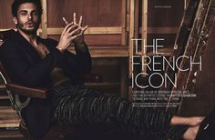 Baptiste Giabiconi for August Man Malaysia by Anthony Meyer