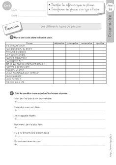 Lire un tableau - Cm1 - Exercices à imprimer - Pass Education | eval | Exercice cm1, Cm1, Tableau