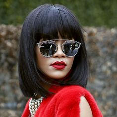Rhianna looking #gorgeous in her must have #Dior #SoReal