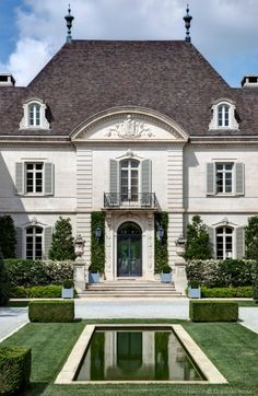 New House Goals Exterior Mansions Ideas Architecture Durable, Architecture Design, French Architecture, Installation Architecture, Classical Architecture, Residential Architecture, Landscape Architecture, Design Exterior, Facade Design