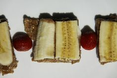 Raw Almond Butter Honey Spread and Banana over Raw Buckwheat Bread