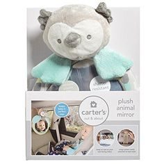 Baby Mirror Toys - Carters Plush Owl Animal Mirror *** Check this awesome product by going to the link at the image.