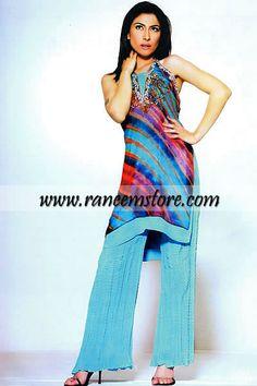 Design HER971, Product code: HER971, Tie and Dye Designer Pakistani Dress, Tie-n-Dye Pakistani Shalwar Kameez Dress Online