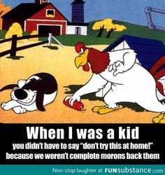 Funny Picture Dump Of The Day –and altho I love foghorn leghorn I never did think to light t. Funny Shit, The Funny, Funny Stuff, Funny Humor, Funny Cartoons, Cartoon Humor, Retro Cartoons, That's Hilarious, Funny Ads