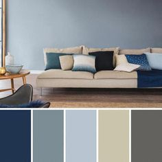 25 Best Living Room Color Scheme Ideas and Inspiration. The idea of a living room color scheme is needed to provide a new atmosphere for your family. The first step you have to do Good Living Room Colors, Simple Living Room Decor, Small Living Room Design, Living Room Color Schemes, Living Room Designs, Cozy Living, Colour Schemes, Color Combinations, Living Room Remodel