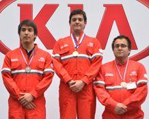 Alumnos de Ingeniería del Área Mecánica de INACAP ganan Olimpíadas Técnicas Kia-Subaru