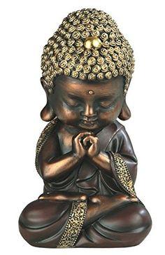 Golden Sitting Baby Buddha Figurine Religious Buddhism Collectible New Statuette, Gold Baby Buddha, Little Buddha, Buddha Decor, Buddha Art, Buda Zen, Small Buddha Statue, Buddha Painting, Mural Painting, Sitting Buddha