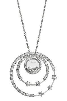 Chopard celestrial necklace.