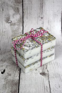 Homemade Rosemary Mint Soap - A Spark of Creativity