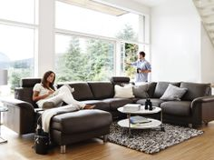 Stressless®                  E300 Sofa, from $4295