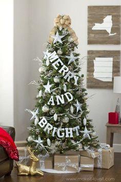 Tradiional Christmas tree