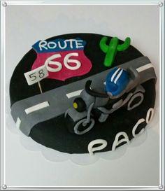 Gateau us route 66