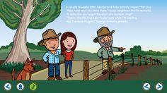 Checking out the crop with nosey neighbour Neville on the George the Farmer App. Download now on iTunes.  #farm #farming #kids #kidsapp #kidsfarm #aussiefarm #aussie #australia