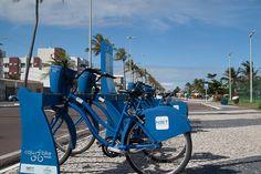 Bicicletas da Caju Bike, em Aracaju