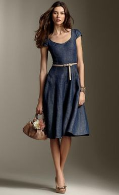 Linen Shift Dress 2