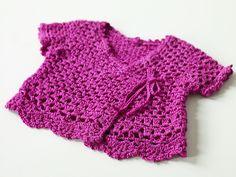 Ravelry: Crochet Child's Top #70028A / #70030A pattern by Lion Brand Yarn