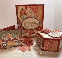 Welcome to the October Stampin Friends Blog Hop. I am happy you are here. This month the theme is Thanksgiving. To see the projects from...