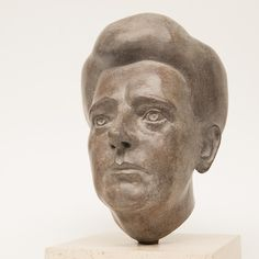 portret in brons van Grietje Kingma