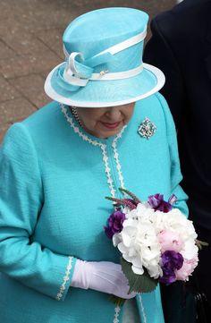 Queen Elizabeth II Photos: The Queen Attends The All England Tennis…