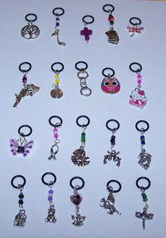 ECIGARETTE ECIG EGO VAPOR CHARMS LOT OF 20  BEAD & PREMIUM MIX FUN ACCESSORIES