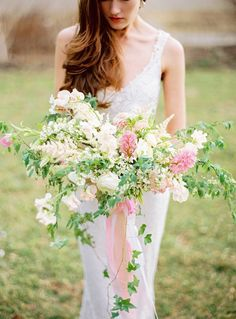 Spring Bouquet | Bridal Musings Wedding Blog