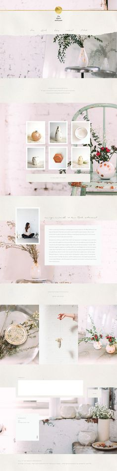 soft web design inspiration